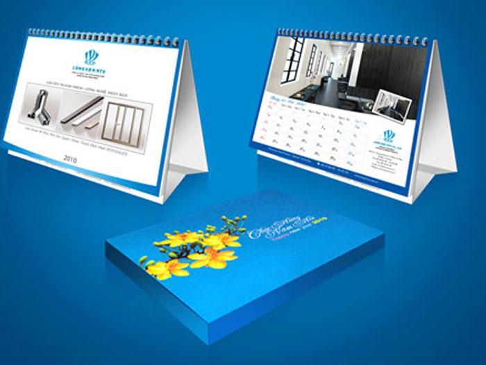 Lịch độc quyền là lịch thiết kế riêng cho công ty với hình ảnh và thông tin riêng